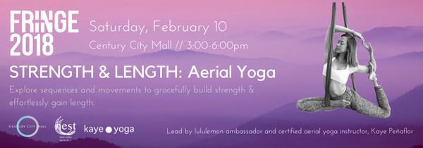 Feb 10 KayePenaflor - show graphic - Aerial Yoga