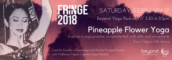 Feb 17 - KayePeñaflor - PineappleFlowerYoga - show graphic