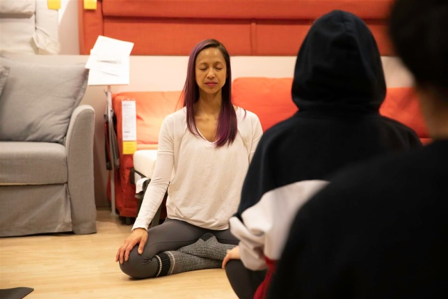 Meditation at IKEA