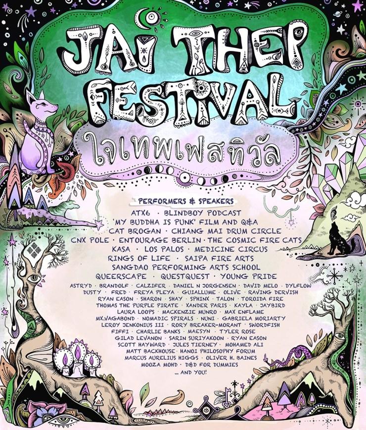 Jai Thep Festival 2020 Line Up
