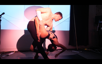 Performance at Psychonaut Experiments hosted by Maylee Todd and Kyvita